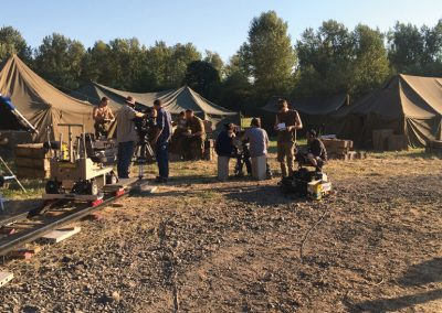 combat-report-behind-the-scenes-filming-military-tents