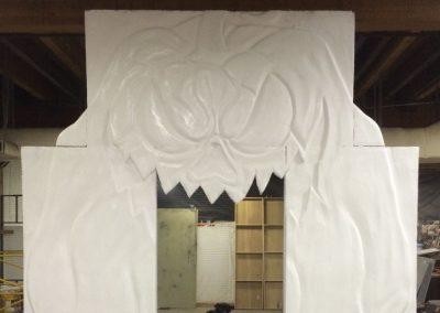 haunted-maize-carved-styrofoam-pumpkin-build-progress