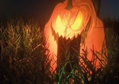 haunted-maze-pumpkin-mouth-door-installed