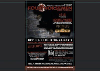 multimedia-design-four-horsemen-haunted-attractions-flyer-design
