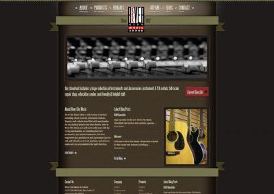 multimedia-design-river-city-music-vancouver-website