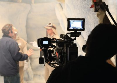 pdx-live-tv-show-behind-the-scenes-setup-star-wars-hoth-parody