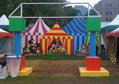 portland-rose-festival-decorations-set-dress-kids-area-photo-ops